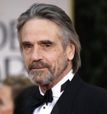 Actor Jeremy Irons arrives at the 69th annual Golden Globe Awards in Beverly Hills