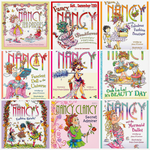 Fancy Nancy Books 2 Screen