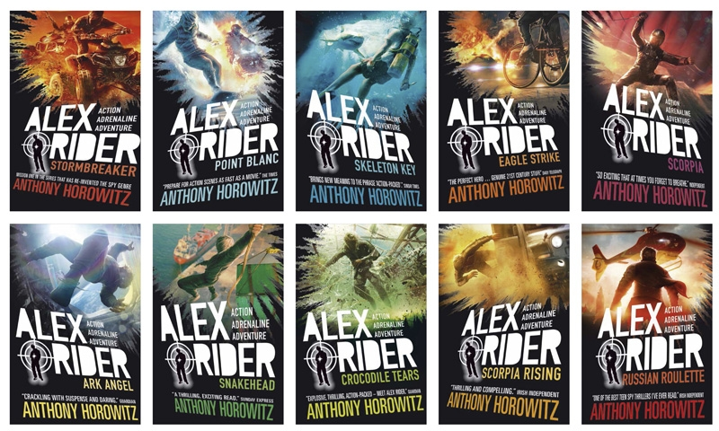 alex rider-covers