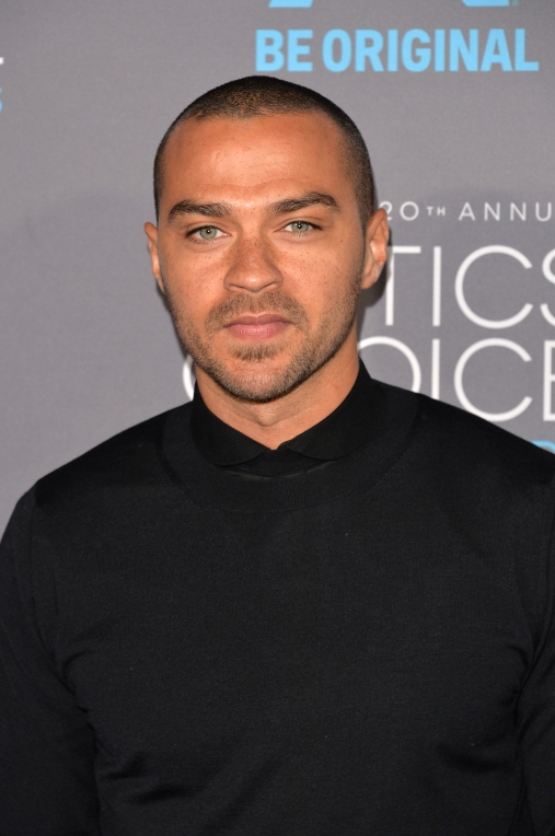 LOS ANGELES, CA - JANUARY 15: Actor Jesse Williams attends the 20th annual Critics' Choice Movie Awards at the Hollywood Palladium on January 15, 2015 in Los Angeles, California. (Photo by Alberto E. Rodriguez/Getty Images for A&E Network)