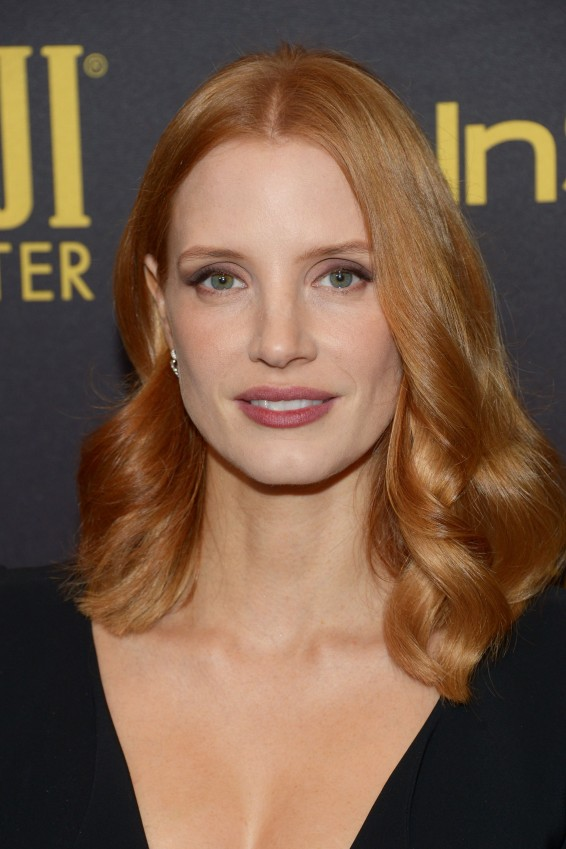 WEST HOLLYWOOD, CA - NOVEMBER 10: Actress Jessica Chastain arrives at the Hollywood Foreign Press Association and InStyle celebrate the 2017 Golden Globe Award Season at Catch LA on November 10, 2016 in West Hollywood, California. (Photo by Matt Winkelmeyer/Getty Images)